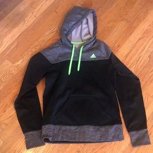 Adidas climawarm hooded sweatshirt